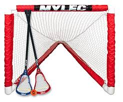 Mylec Mini Lacrosse Goal Set {White}