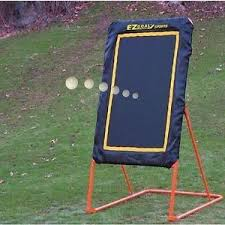 EZ Goal Professional Folding Lacrosse Throwback Rebounder,