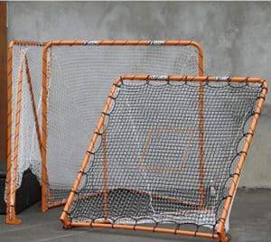 EZ Goal Lacrosse Folding Goal, 6 x 6-Feet, Orange