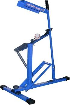 blue flame pitching machine