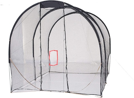 extra baffle net batting cage