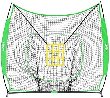 Tee & baseball batting net practice set