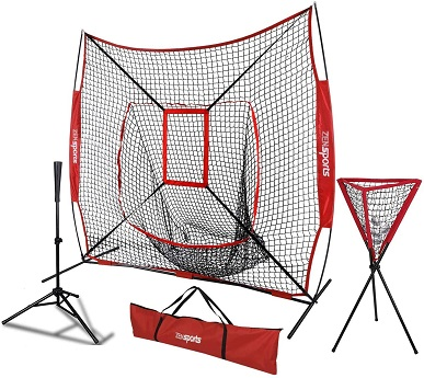 baseball hitting, pitching net