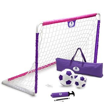 Morvat premium portable soccer goal set